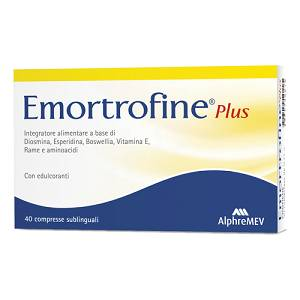 EMORTROFINE PLUS 40CPR SUBLING