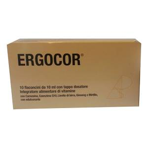 ERGOCOR Integratore Alimentare 10 flaconi 10 ml